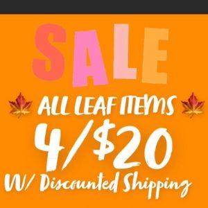 🍁4/$20 WITH DISCOUNTED SHIPPING🍁